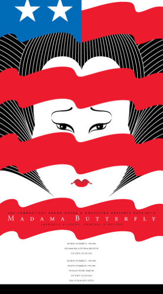 Madama Butterfly (Red, White & Blue)