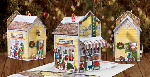 Graphics 3, Inc. Sweet Shop Pop-Up Christmas Card