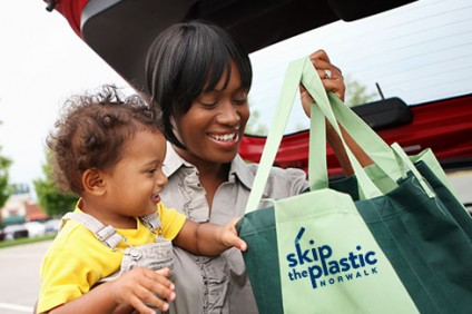 18042TFIEnvision Marketing Desigh Agency Skip The Straw Shopping Bag WN